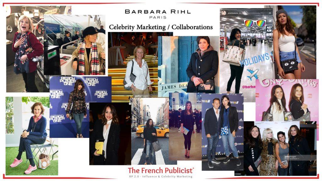 Celebrity Marketing & Collaborations pour la maison Barbara Rihl Paris by The French Publicist