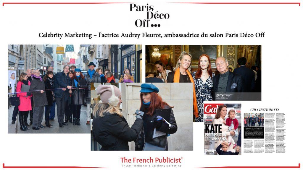 Celebrity Marketing pour Paris Déco Off by The French Publicist