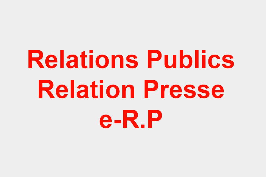 Logo de l'agence Relations Publics Relations Presse e-R.P de l'Agence de Relations Publics et The French Publicist - Agence de Relations Publics et d'influence d'influence